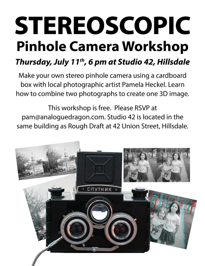 Stereoscopic Pinhole Camera Workshop – Analogue Dragon
